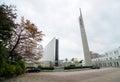 La cathédrale de st mary dans tokyo japan Photos stock