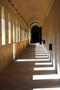 La chartreuse is the largest carthusian monastery in france it was founded in the th centuries villeneuve lez avignon Royalty Free Stock Photo