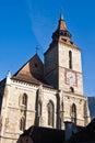La chiesa nera Fotografia Stock