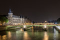 La Conciergerie in Paris Stock Images