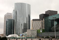 La defense office buildings in business center of paris Royalty Free Stock Photography