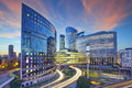 La Defense, Paris. Royalty Free Stock Photo