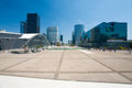 La Defense Square Cityscape H Royalty Free Stock Image