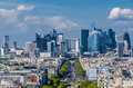 La defense view Royalty Free Stock Photo
