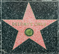 La estrella de destiny child en hollywood Fotografía de archivo libre de regalías