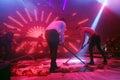 La Fiesta Stage by Sensation party Royalty Free Stock Photo