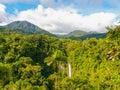La Fortuna de San Carlos waterfall Royalty Free Stock Photo