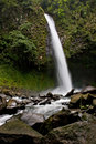 La Fortuna Waterfall Royalty Free Stock Photo