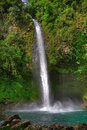 La Fortuna Waterfall, Costa Rica Royalty Free Stock Photography