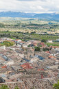 La Fresneda village at Teruel, Spain Royalty Free Stock Photography