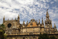 La giralda the famous cathedral of seville world Stock Images