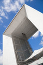 La Grande Arche de la Defense Royalty Free Stock Photo