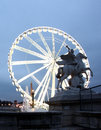 La Grande Roue Ferris Wheel in Paris France Stock Image