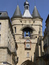 La Grosse Cloche, Bordeaux ( France ) Royalty Free Stock Photography