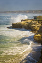 La jolla coast california a picture perfect morning along coastal a popular tourist destination near san diego southern on the Stock Images