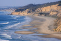 La jolla shores beach san diego california Stock Image