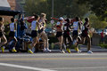 LA Marathon Pro Women Stock Photo