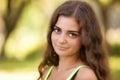 La muchacha latina hermosa Imagen de archivo libre de regalías