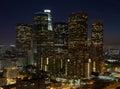 LA Night Royalty Free Stock Photo
