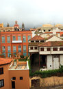 La Orotava city on Tenerife Royalty Free Stock Image