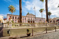 La orotava tenerife canary islands spain town hall in the center of Stock Photography