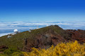 La Palma Roque de Muchachos ORM observatory Royalty Free Stock Photo