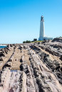La Paloma lighthouse Uruguay Royalty Free Stock Photo