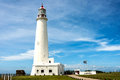 La Paloma lighthouse in Uruguay Royalty Free Stock Photo
