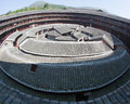 La parte de centro de edificio de la tierra del Hakka Imagen de archivo libre de regalías
