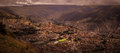 La paz bolivia downtown photo of the historic capital city Royalty Free Stock Photography