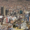 La paz bolivia south america the city of in Royalty Free Stock Photo