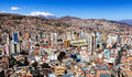 La paz capital of bolivia Royalty Free Stock Photos