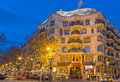 La pedrera casa mila better known as is a building designed by the catalan architect antoni gaudi Royalty Free Stock Photography