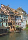 La petite france strasbourg alsace france in old town called Royalty Free Stock Image