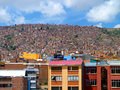 La plaz bolivia city of Royalty Free Stock Image
