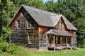 La Quebec, il villaggio storico di Val Jalbert Immagini Stock