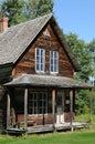 La Quebec, il villaggio storico di Val Jalbert Fotografie Stock Libere da Diritti