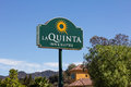 La quinta inn and suites motel valenica ca usa august is a chain of limited service hotels in the united states Royalty Free Stock Photography