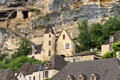 La Roque-Gageac, France Stock Images