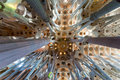 La Sagrada familia, Barcelona, spain. Royalty Free Stock Photo