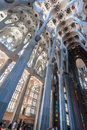 La Sagrada Familia Church Barcelona Spain Royalty Free Stock Photos