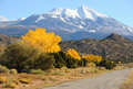 La Sal Mountain Byway Stock Photos