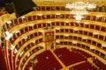 La Scala in Milan Royalty Free Stock Photo
