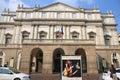 La Scala, opera house of Milan, Italy Royalty Free Stock Photo