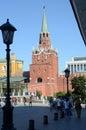 La torre del kremlin Imagen de archivo libre de regalías