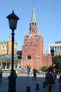 La torre julio del kremlin Fotos de archivo