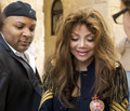 La Toya Jackson in Malta Stock Images