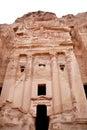 La tumba de la urna en el Petra Imágenes de archivo libres de regalías