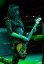 La venda inglesa del rock duro muere tan líquido Imagen de archivo libre de regalías