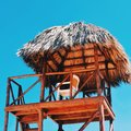 La vida es una playa Foto de archivo libre de regalías